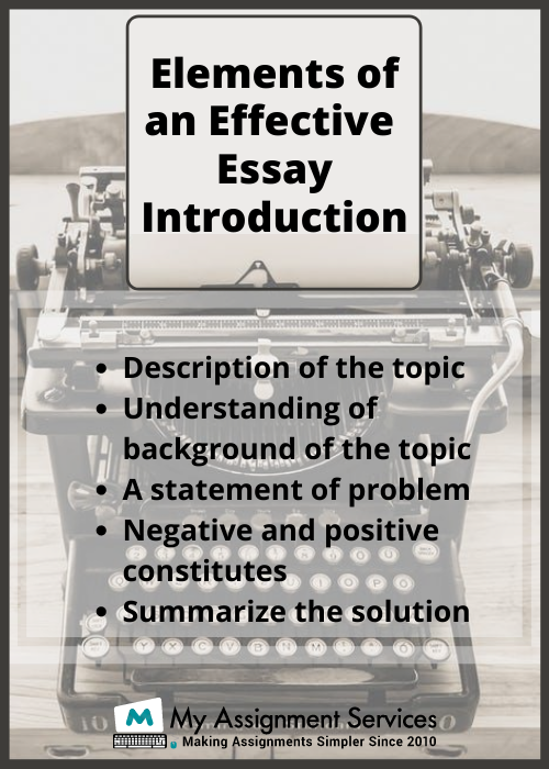 essay introduction writing Introduction