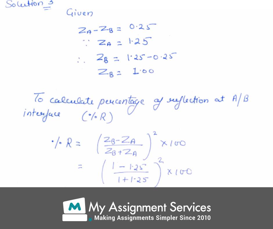 Acoustics Assignment Solution 3