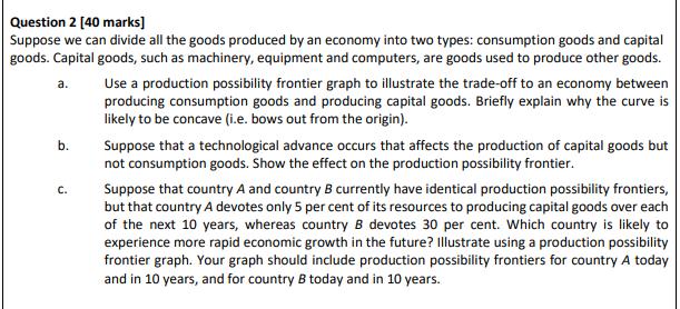 economics assignment question sample 3