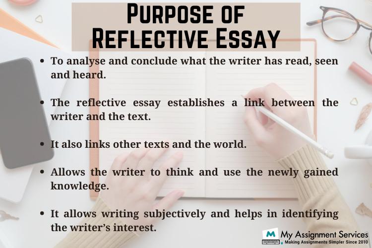 purpose of reflective essay
