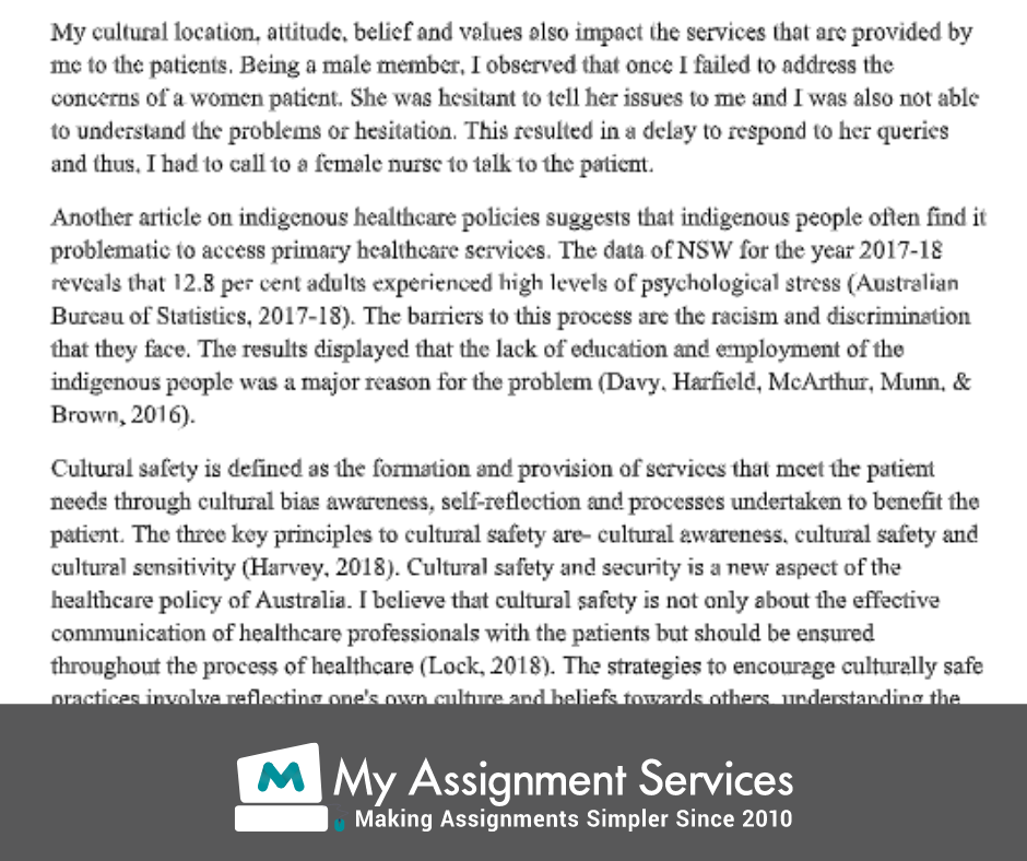 reflective essay sample 2