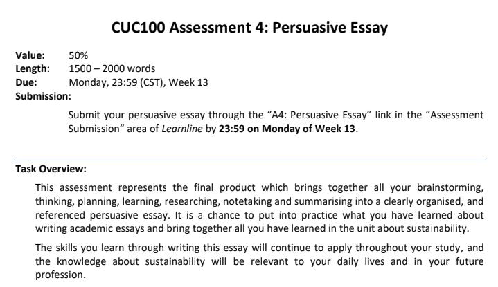 online persuasive essay writing sample