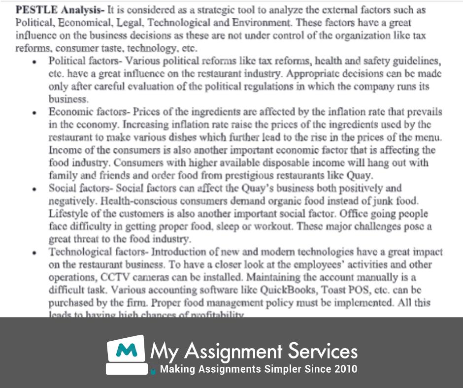 business economics assignment sample 3