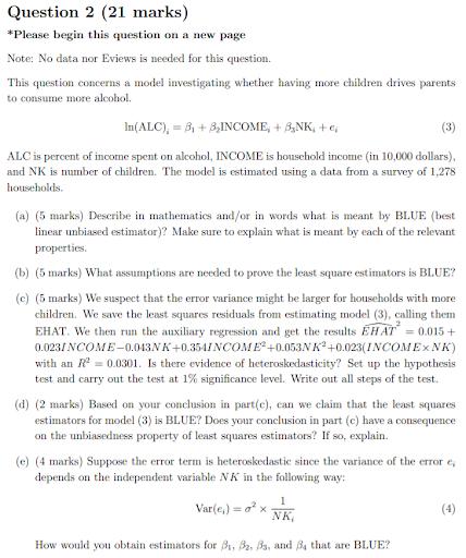 econometrics homework help online