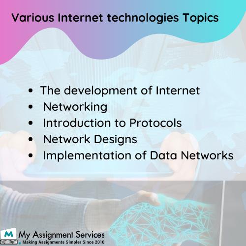 Internet Technologies Assignment Help