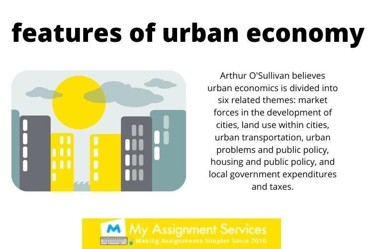 Urban Geography homework help