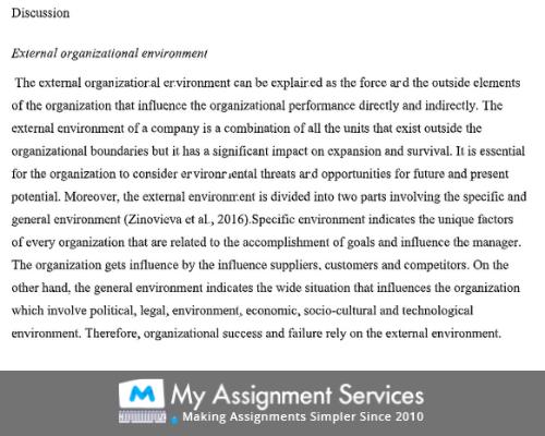 Business & Management Studies Assignment Help USA
