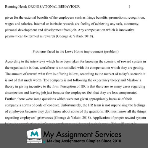 Behaviour Disorders Assignment Sample