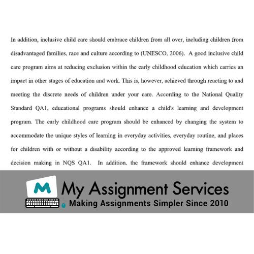 developmental disabilities assignment help