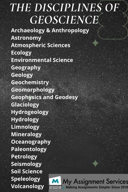 geoscience assignment help
