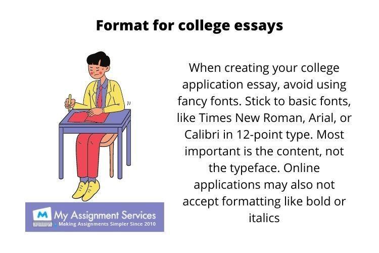 sample college essays