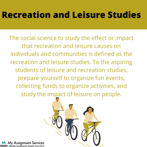 Recreation And Leisure
