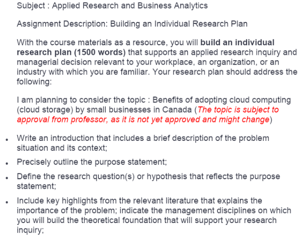 Business Analytics Assignment Help Uk
