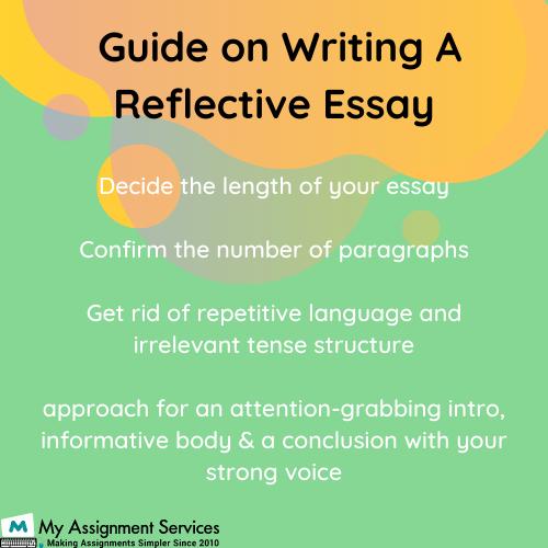 Reflective Essay Assignment Help