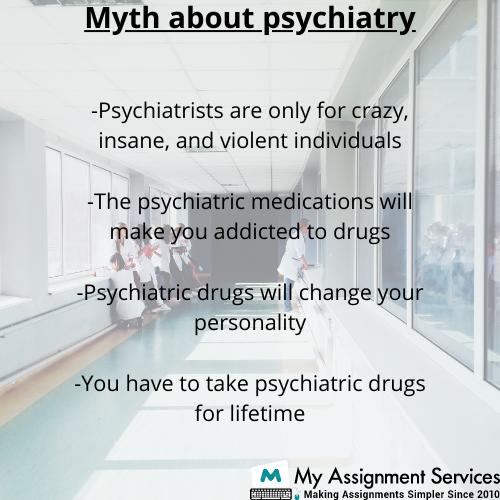 myth about psychiatry