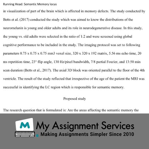 Behavioural Neuroscience assignment