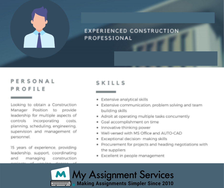 experience construction
