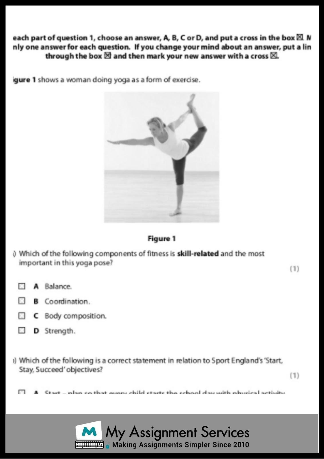 gcse pe coursework help