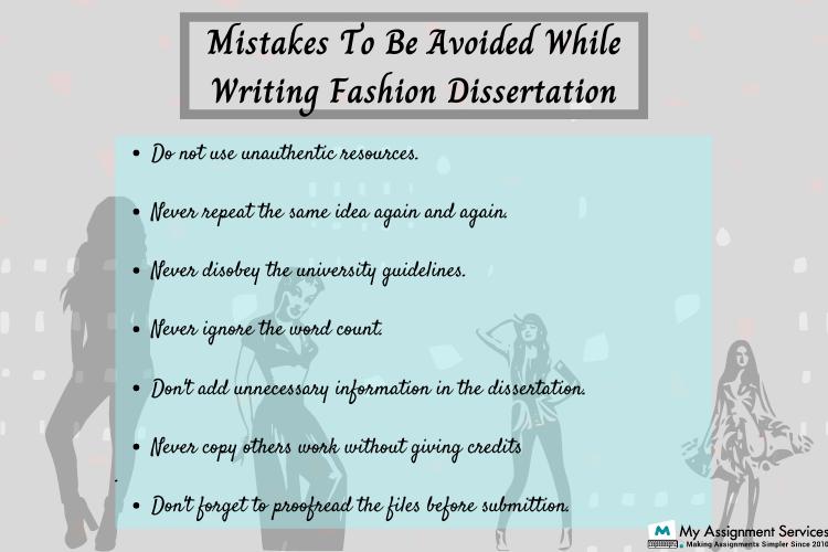 fashion dissertation help