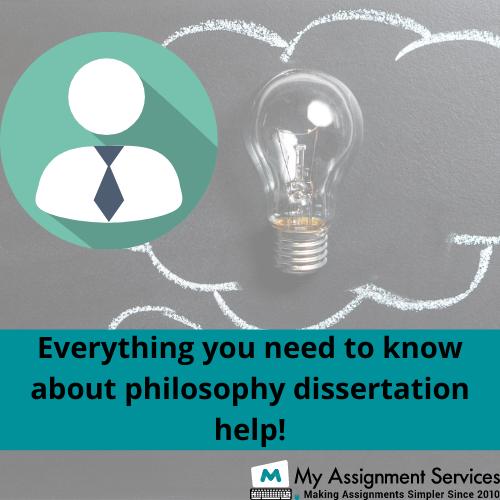 philosophy dissertation help
