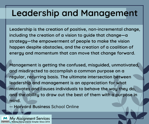 Nursing leadership assignment tips