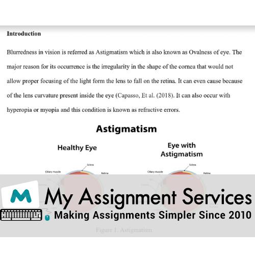 Ophthalmic Homework