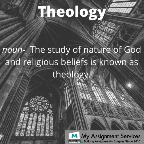 Theology assignment help