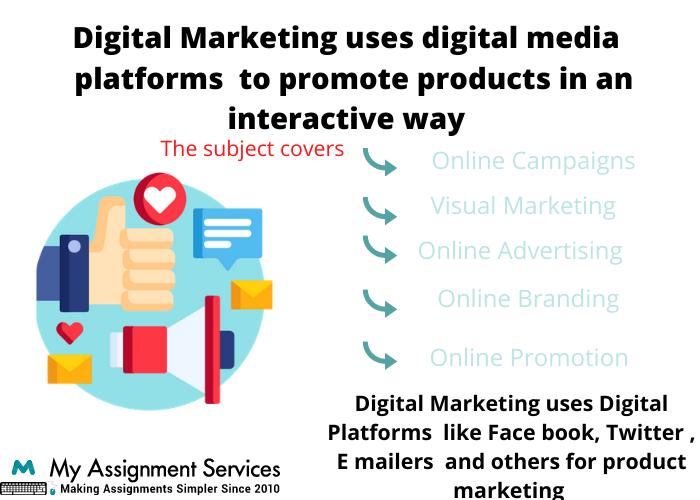 digital marketing homework help