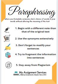 Paraphrasing tips