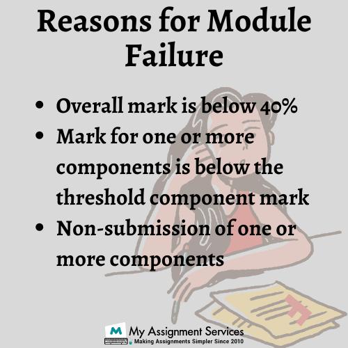 Reason for Module Failure