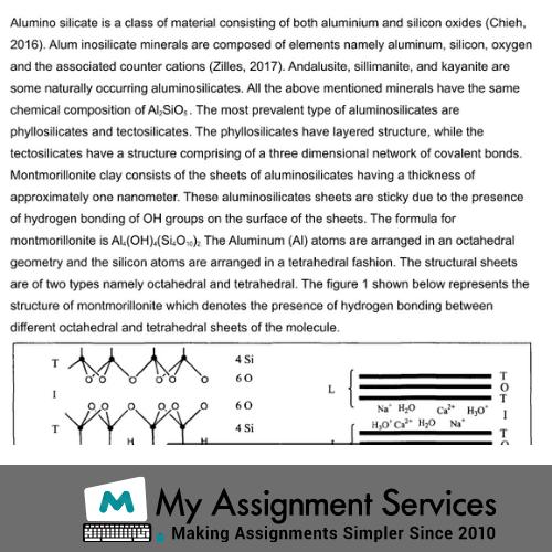 Materials Science homework help