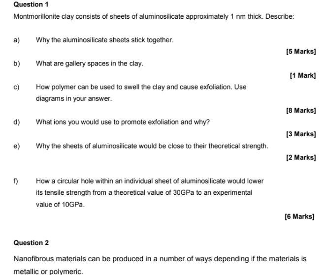 Materials Science homework help usa