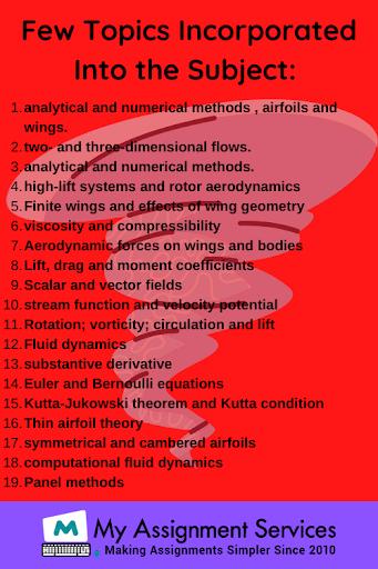Aerodynamics assignment help usa