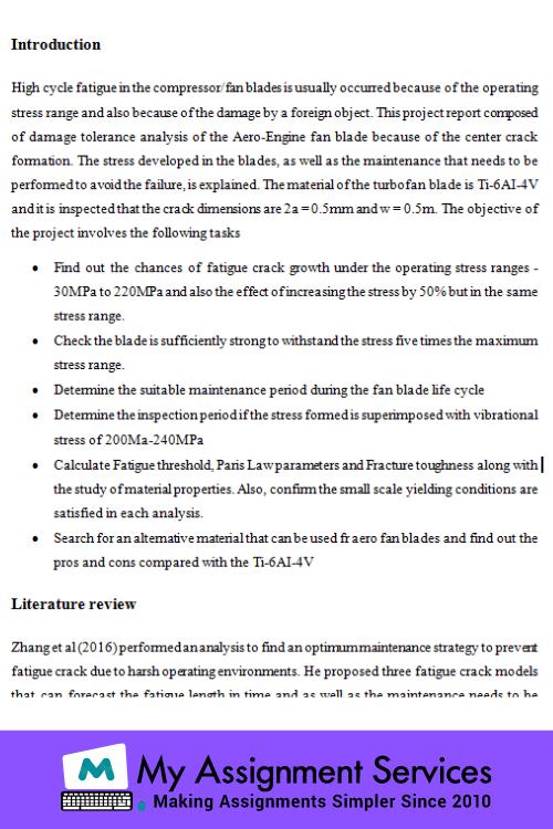 Aerodynamics assignment help usa Sample
