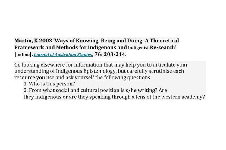 Epistemology assignment