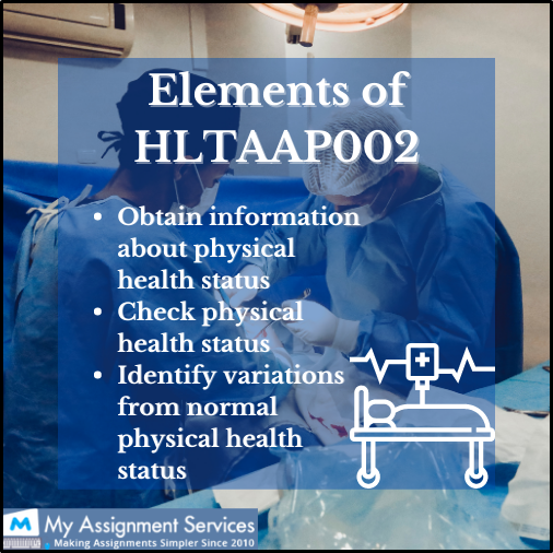 elements of HLTAAP002