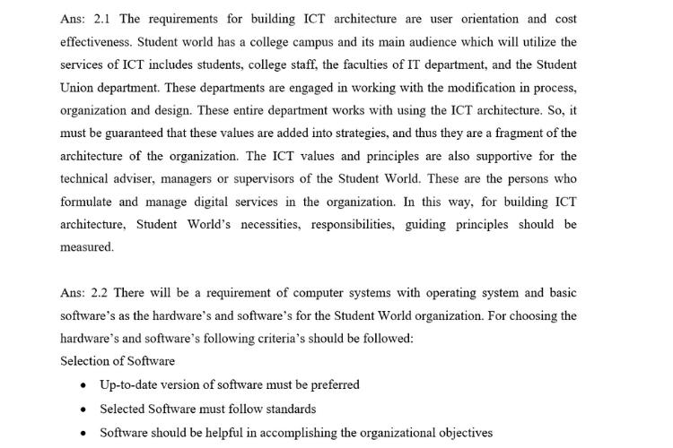 ICT - Internet Technologies