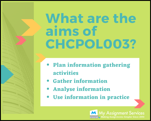 aims of CHCLEG003