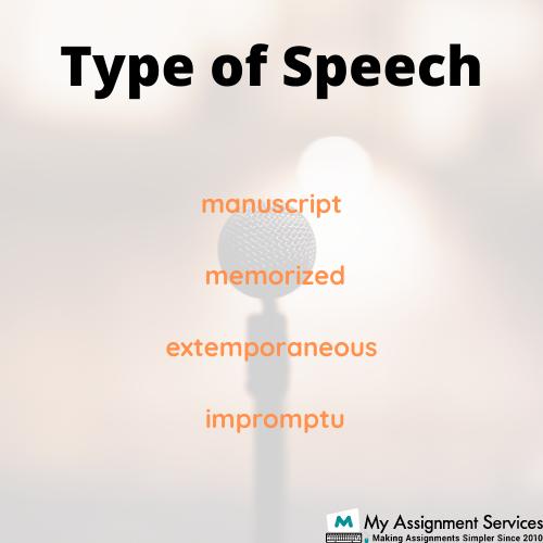 Type of Speech