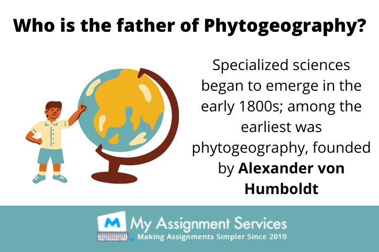 Phytogeography Homework Help