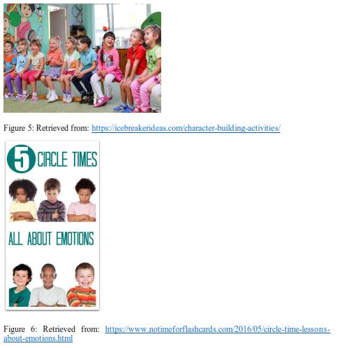 picture of children doing Moral Development Activities