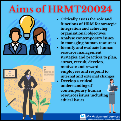 aims of HRMT20024
