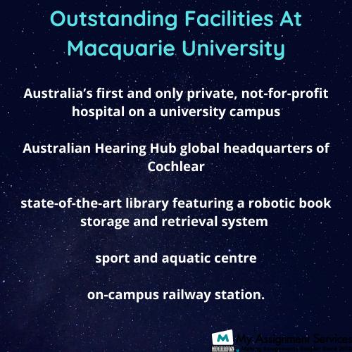 Facilities at Macquarie University