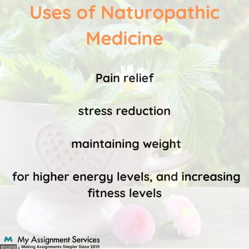 Naturopathic Medicine Assignment Sample