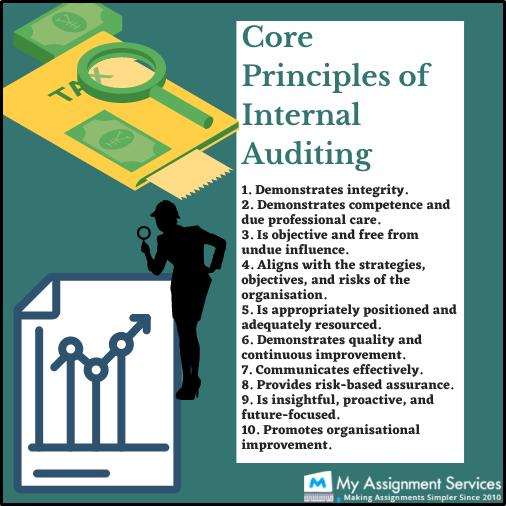 core principal of internal auditing