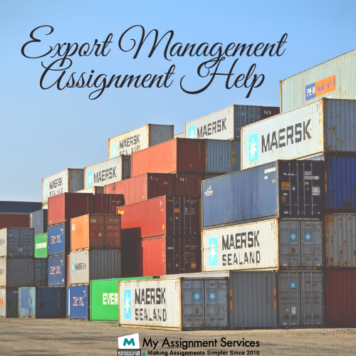Export Management Assignment Help