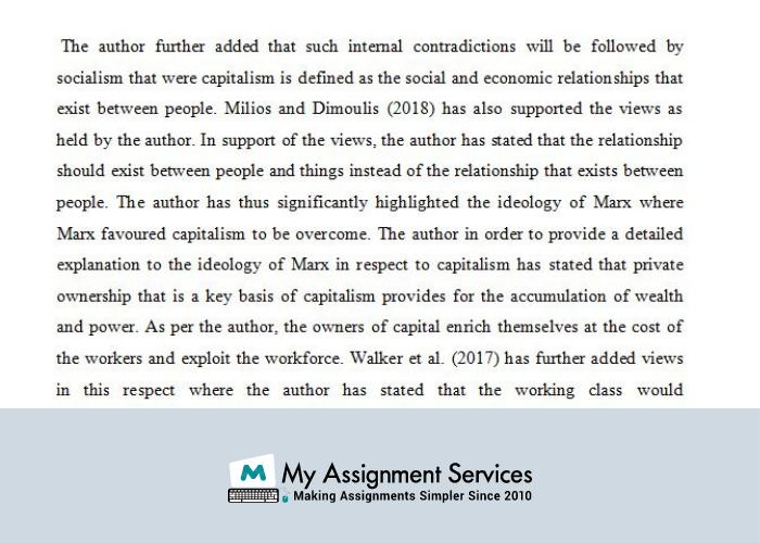 Ideology of Karl Marx