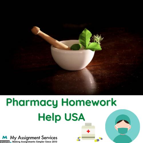 Pharmacy Homework Help USA