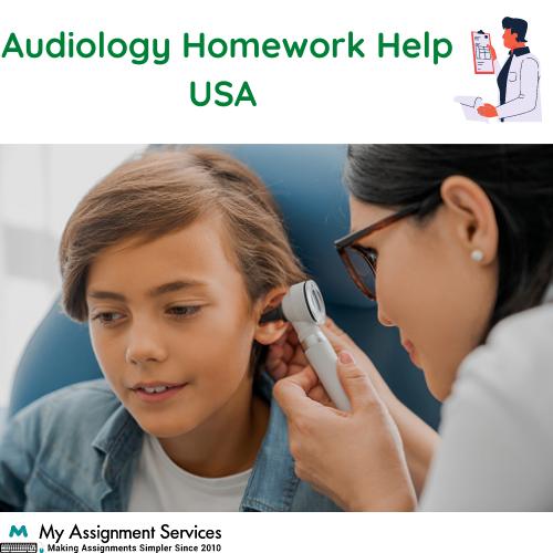 Audiology Homework Help