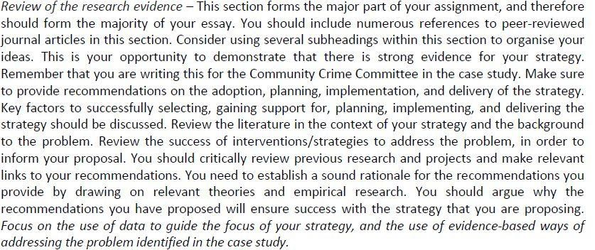 Review of Research Evidence